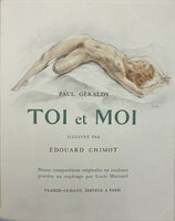 Toi et Moi [You and Me]. by CHIMOT, Edouard. GERALDY, Paul.