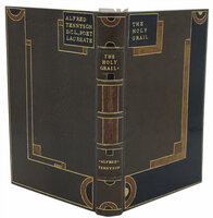 The Holy Grail & Other Poems. by TENNYSON, Lord Alfred. Bound by H.T WOOD of London.