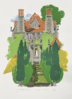 Garsington Manor. by HOGARTH, Paul (1917-2001)