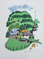 Gsteig. by HOGARTH, Paul (1917-2001)