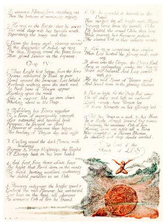 The Book of Los. by BLAKE, William. TRIANON PRESS.