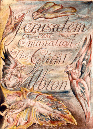 Jerusalem. The Emanation of the Giant Albion. by BLAKE, William. TRIANON PRESS.
