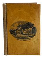 A Longfellow Treasury. by MAUCHLINE WARE BINDING. LONGFELLOW, Henry W. PEVENSEY CASTLE.