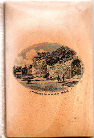 A Longfellow Treasury. by MAUCHLINE WARE BINDING. LONGFELLOW, Henry W. PEVENSEY CASTLE.