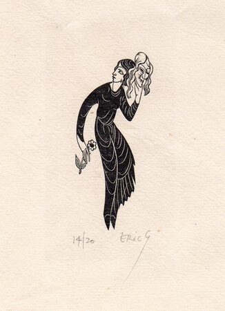 The Constant Mistress. by GILL, Eric.
