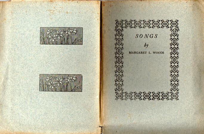 Songs. by DANIEL PRESS. WOODS, Margaret L.