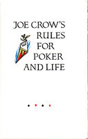 Bad Beat with Joe Crow's Rules for Poker and Life. by SCHANILEC, Gaylord. MIDNIGHT PAPER SALES. HAUTMAN, Pete.