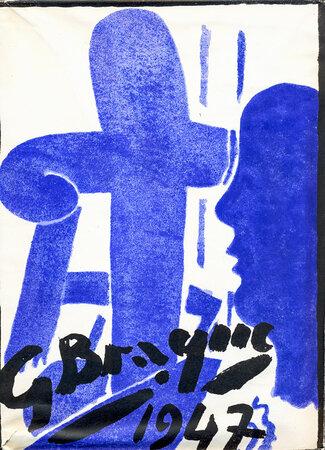 Braque Le Patron. by BRAQUE, Georges. PAULHAN, Jean