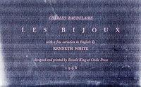 Les Bijoux. by CIRCLE PRESS. BAUDELAIRE, Charles.