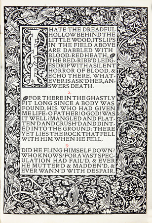 Maud, A Monodrama. by KELMSCOTT PRESS. TENNYSON, Lord Alfred.