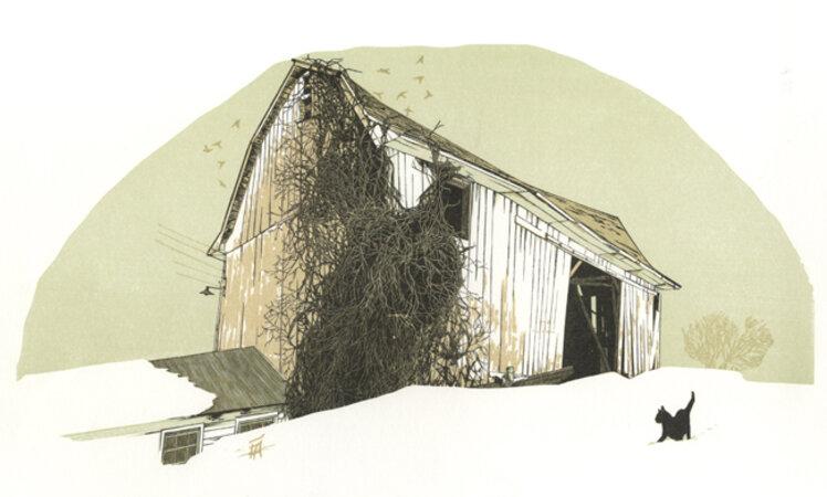 Moline's Barn. by SCHANILEC, Gaylord.
