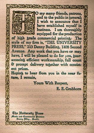Bibliography of the Grabhorn & Grabhorn-Hoyem Press 1915-73 in Three Volumes: by GRABHORN & GRABHORN-HOYEM PRESS.
