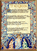 The Oxen by Thomas Hardy. by ILLUMINATED POEM.