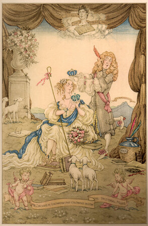 Songs and Poems of John Dryden. by GOLDEN COCKEREL PRESS. BLANCHE, Leslie. JONES, Gwyn.