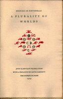 A Plurality of Worlds. by NONESUCH PRESS. DE FONTENELLE, Bernard.
