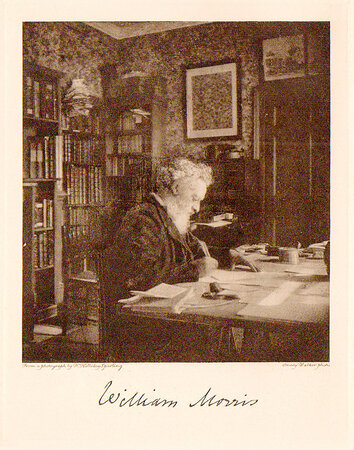 The Kelmscott Press and William Morris, Master-Craftsman. by SPARLING, H. Halliday. KELMSCOTT PRESS.