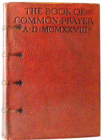 The Book of Common Prayer. by UPDIKE, D.B. MERRYMOUNT PRESS.