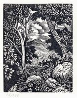 Lizard on a Rock. by STONE, Reynolds. (1909-1979)