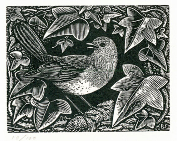 Christmas Robin. by STONE, Reynolds.(1909-1979)