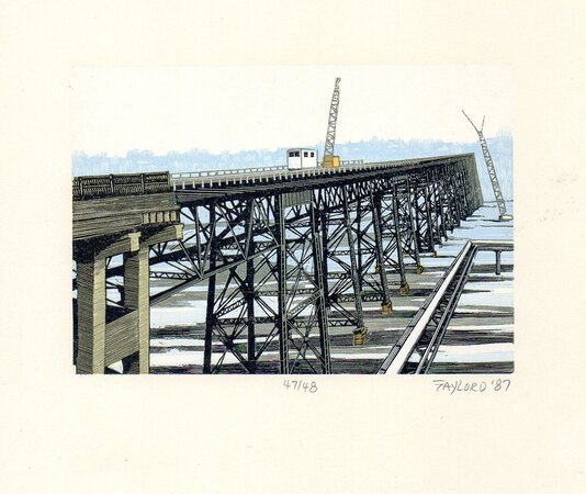 High Bridge 3. by SCHANILEC, Gaylord, b.1955.