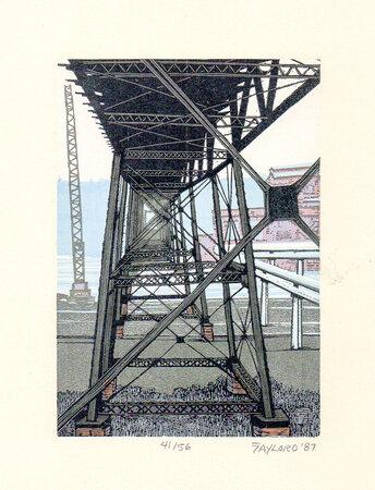 High Bridge 5. by SCHANILEC, Gaylord, b.1955.