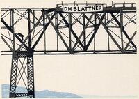 High Bridge 7. by SCHANILEC, Gaylord, b.1955.