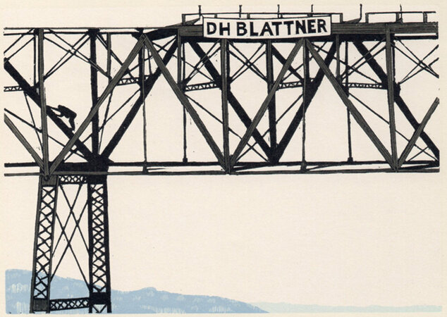High Bridge 7. by SCHANILEC, Gaylord, b.1955.
