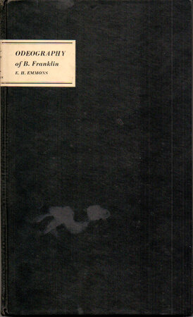 Odeography of B. Franklin. by AYERDALE PRESS. EMMONS, Earl H.