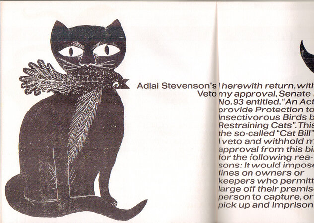 The Cat's Meow. by BAUER TYPE FOUNDRY TYPE SPECIMEN. STILLER, Günther.
