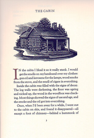 The Cabin. by ARION PRESS. MAMET, David.
