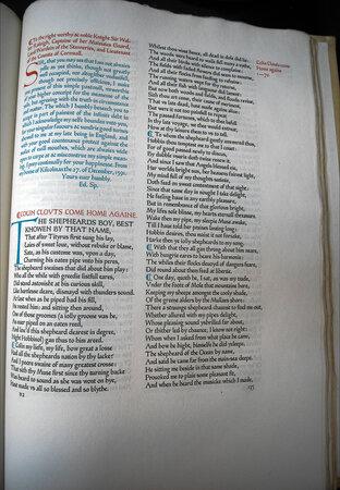 The Minor Poems of Edmund Spenser. by ASHENDENE PRESS. SPENSER, Edmund.