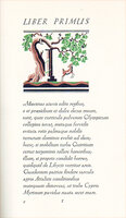 Horati Carminum Libri IV. [The Odes of Horace] by CURWEN PRESS. HORACE. WILLOUGHBY, Vera.