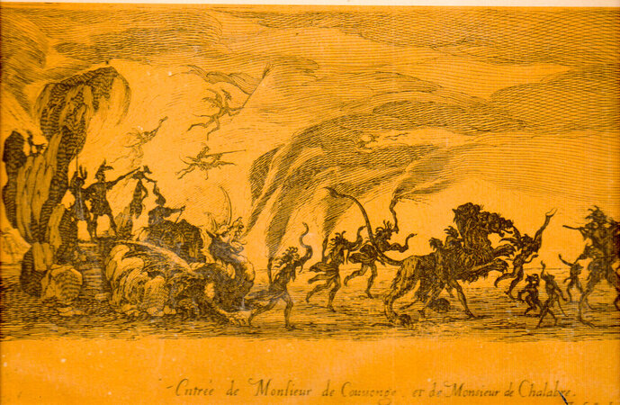 The Combat at the Barrier: an Account...with Reproductions of Callot's Etchings. by DAHLSTROM, Grant. CALLOT, Jaques.