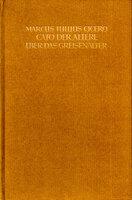 Cato Der Ältere Über Das Greisenalter. by BREMER PRESSE. CICERO, Marcus Tullius.