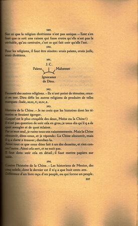 Pensées. by BREMER PRESSE. PASCAL, Blaise.