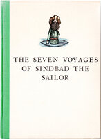 The Seven Voyages of Sindbad the Sailor, from the Arabian Nights Entertainments. by BROADSIDE PRESS. REED, Philip.