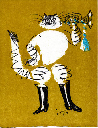Le Chat Botté [Puss in Boots]. by PERRAULT, Charles. FISCHER, Hans.
