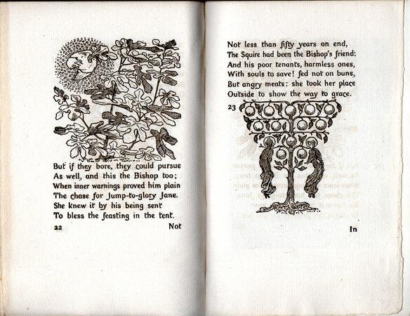 Jump to Glory Jane. by HOUSMAN, Lawrence. MEREDITH, George.