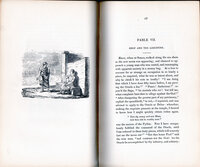 Fifty-one Original Fables, with Morals and Ethical Index. Also a translation of Plutarch's Banquet of the Seven Sages, revised for this work. by FABLES. [BIRCH, Jonathan]. CRUICKSHANK, R.