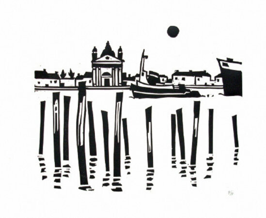 Venice. by WILLIAMS, Kyffin (1918-2006)