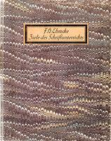 Ziele des Schrift-Unterrichts. Ein Beitrag zur modernen Schriftbewegung. by EHMCKE, F.H.