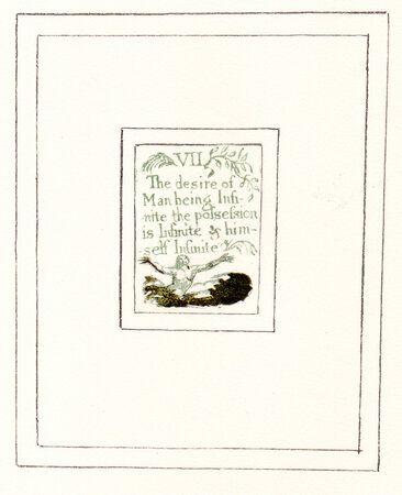 There is No Natural Religion. by BLAKE, William. TRIANON PRESS.