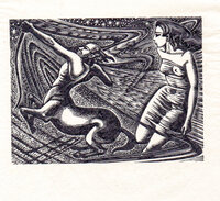 Andromeda and the Centaur. by BUCKLAND WRIGHT, John.