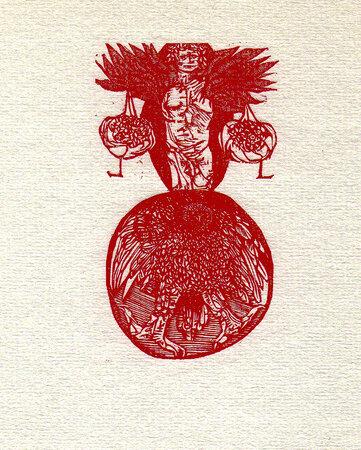 Culs de Lampe. by BASKIN, Leonard. GEHENNA PRESS.