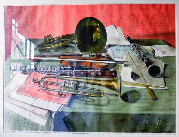 Music. by FREEDMAN, Barnett. J. LYONS' TEASHOP LITHOGRAPH.
