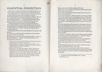 "Essential Perfection. An Essay by Eric Gill, reprinted from ""The Game"" January number, A.D. 1918. by S. DOMINIC'S PRESS. GILL, Eric."