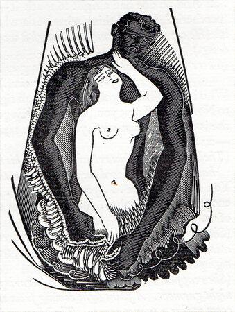 Maya: A Play by Simon Gantillon, paraphrased into English by Virginia & Frank Vernon. by GOLDEN COCKEREL PRESS. HUGHES-STANTON, Blair. GANTILLON, Simon.