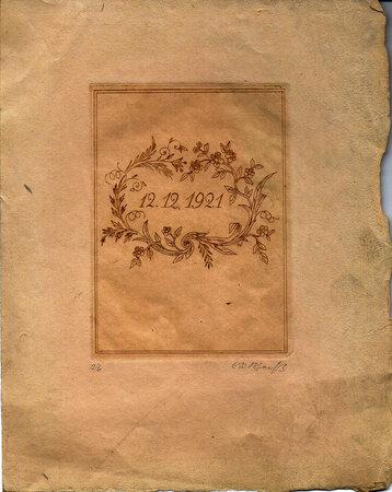 E.R. Weiss zum funfzigsten Geburtstage, 12. Oktober 1925. by GERMAN TYPOGRAPHY. WEISS, E.R.