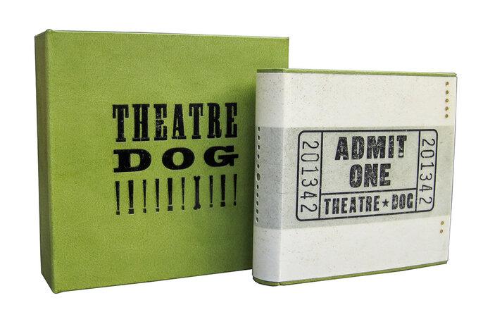 Theatre Dog. by ERI FUNAZAKI & DANNY FLYNN, book artists.