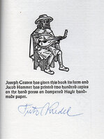 The Song-Story of Aucassin & Nicolette. by HAMMER. KREDEL, Fritz. GRAVESEND PRESS.